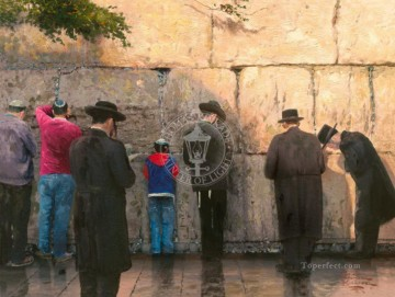 The Wailing Wall Jerusalem Thomas Kinkade Oil Paintings