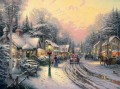 Village Christmas Thomas Kinkade
