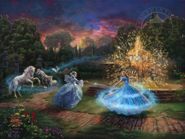 Thomas Kinkade Painting - Wishes Granted Thomas Kinkade