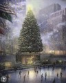 Christmas in New York Thomas Kinkade