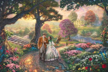 Gone With The Wind Thomas Kinkade Oil Paintings
