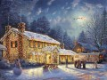 National Lampoon Christmas Vacation Thomas Kinkade