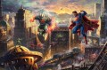 Superman Man of Steel Hollywood Movie Thomas Kinkade