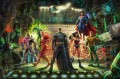 THE JUSTICE LEAGUE Hollywood Movie Thomas Kinkade