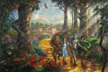 Follow The YELLOW BRICK ROAD Thomas Kinkade