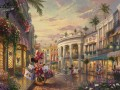 Minnie Rocks the Dots on Rodeo Drive Thomas Kinkade