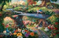 Disney Alice in Wonderland Thomas Kinkade