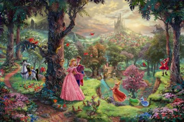 Kinkade Canvas - Disney Dreams Thomas Kinkade