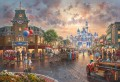 Disneyland 60th Anniversary Thomas Kinkade