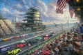Indy Excitement 100 Years of Racing at Indianapolis Motor Speedway Thomas Kinkade