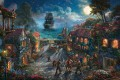 Pirates of the Caribbean Thomas Kinkade
