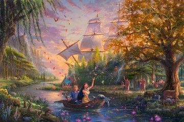 Pocahontas Thomas Kinkade Oil Paintings