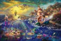 The Little Mermaid Thomas Kinkade