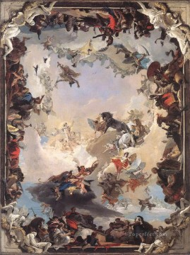 Giovanni Battista Tiepolo Painting - Allegory of the Planets and Continents Giovanni Battista Tiepolo