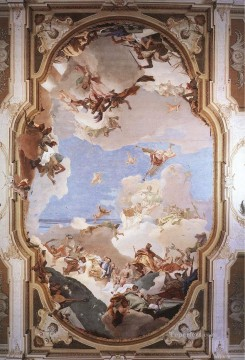 Giovanni Battista Tiepolo Painting - The Apotheosis of the Pisani Family Giovanni Battista Tiepolo