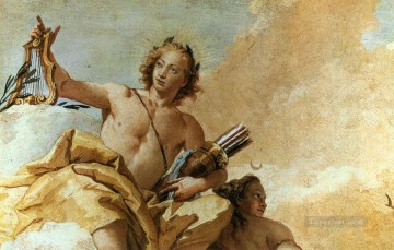 Giovanni Battista Tiepolo Painting - Villa Valmarana Apollo and Diana Giovanni Battista Tiepolo