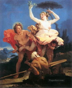Giovanni Battista Tiepolo Painting - Apollo and Daphne Giovanni Battista Tiepolo