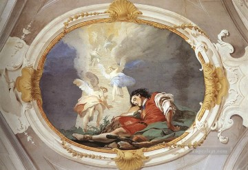 Palazzo Patriarcale Jacobs Dream Giovanni Battista Tiepolo Oil Paintings