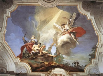 Giovanni Battista Tiepolo Painting - Palazzo Patriarcale The Sacrifice of Isaac Giovanni Battista Tiepolo