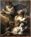 The Angel Succouring Hagar Giovanni Battista Tiepolo