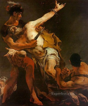 Giovanni Battista Tiepolo Painting - The Martyrdom of St Bartholomew Giovanni Battista Tiepolo