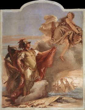 Giovanni Battista Tiepolo Painting - Villa Valmarana Venus Appearing to Aeneas on the Shores of Carthage Giovanni Battista Tiepolo