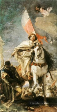 Giovanni Battista Tiepolo Painting - St James the Greater Conquering the Moors Giovanni Battista Tiepolo