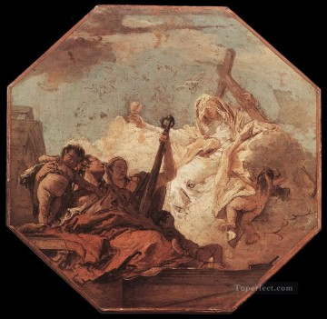 Giovanni Battista Tiepolo Painting - The Theological Virtues Giovanni Battista Tiepolo