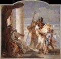 Villa Valmarana Aeneas Introducing Cupid Dressed as Ascanius to Dido Giovanni Battista Tiepolo
