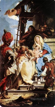 Adoration Art - Adoration of the Magi Giovanni Battista Tiepolo