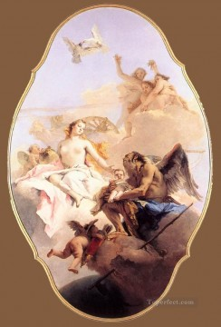 Giovanni Battista Tiepolo Painting - An Allegory with Venus and Time Giovanni Battista Tiepolo