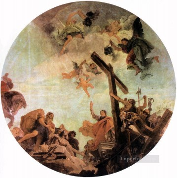 Giovanni Battista Tiepolo Painting - Discovery of the True Cross Giovanni Battista Tiepolo