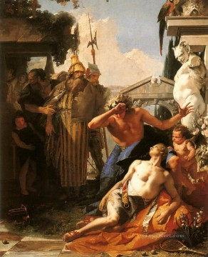 Giovanni Battista Tiepolo Painting - The Death of Hyacinth Giovanni Battista Tiepolo