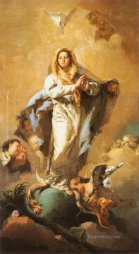 Giovanni Battista Tiepolo Painting - The Immaculate Conception Giovanni Battista Tiepolo