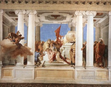 Giovanni Battista Tiepolo Painting - Villa Valmarana The Sacrifice of Iphigenia Giovanni Battista Tiepolo