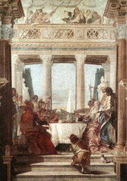 Giovanni Battista Tiepolo Painting - Palazzo Labia The Banquet of Cleopatra Giovanni Battista Tiepolo
