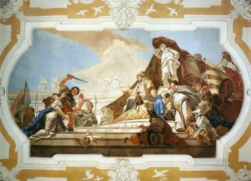 Giovanni Battista Tiepolo Painting - Palazzo Patriarcale The Judgment of Solomon Giovanni Battista Tiepolo