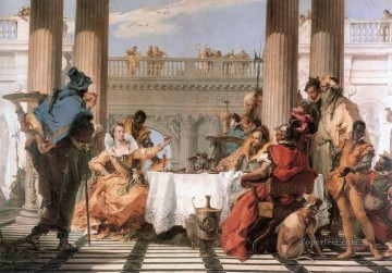 Giovanni Battista Tiepolo Painting - The Banquet of Cleopatra Giovanni Battista Tiepolo