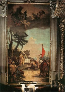 Giovanni Battista Tiepolo Painting - The Sacrifice of Melchizedek Giovanni Battista Tiepolo
