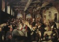 Marriage at Cana Italian Renaissance Tintoretto