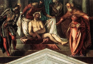 Row Painting - Crowning with Thorns Italian Renaissance Tintoretto