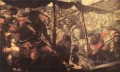 Battle between Turks and Christians Italian Renaissance Tintoretto