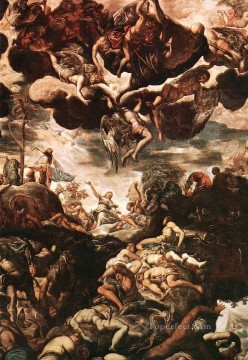 Brazen Serpent Italian Renaissance Tintoretto Oil Paintings