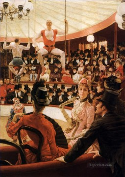 The Sporting Ladies James Jacques Joseph Tissot Oil Paintings
