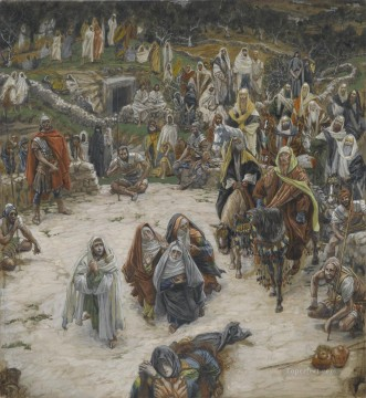 cross - What Our Saviour Saw from the Cross James Jacques Joseph Tissot