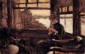 Study For The Prodigal Son In Modern Life The Depature James Jacques Joseph Tissot