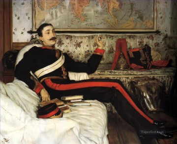 Colonel Frederick Gustavus Barnaby James Jacques Joseph Tissot Oil Paintings
