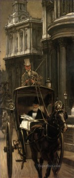 Going Canvas - Going to Business James Jacques Joseph Tissot