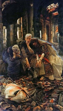 Ruins James Jacques Joseph Tissot Oil Paintings