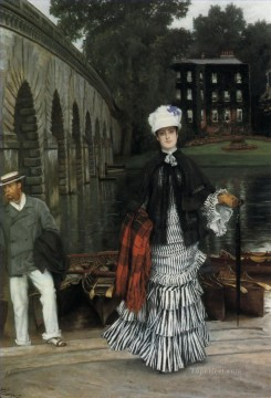 Return Art - The Return from the Boating Trip James Jacques Joseph Tissot
